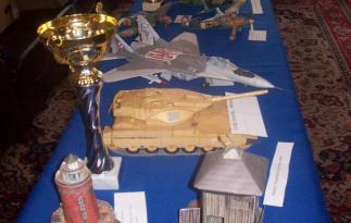 Fragment wystawy konkursowej