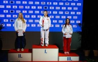 Ceremonia wręczenia medali.