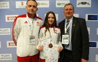 Prawdziwa Victoria dla trenerów KN oraz TKS LOK Archiwum rodzinne zawodniczki