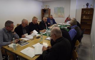 Ostatnie posiedzenie Zarządu Wojewódzkiego LOK