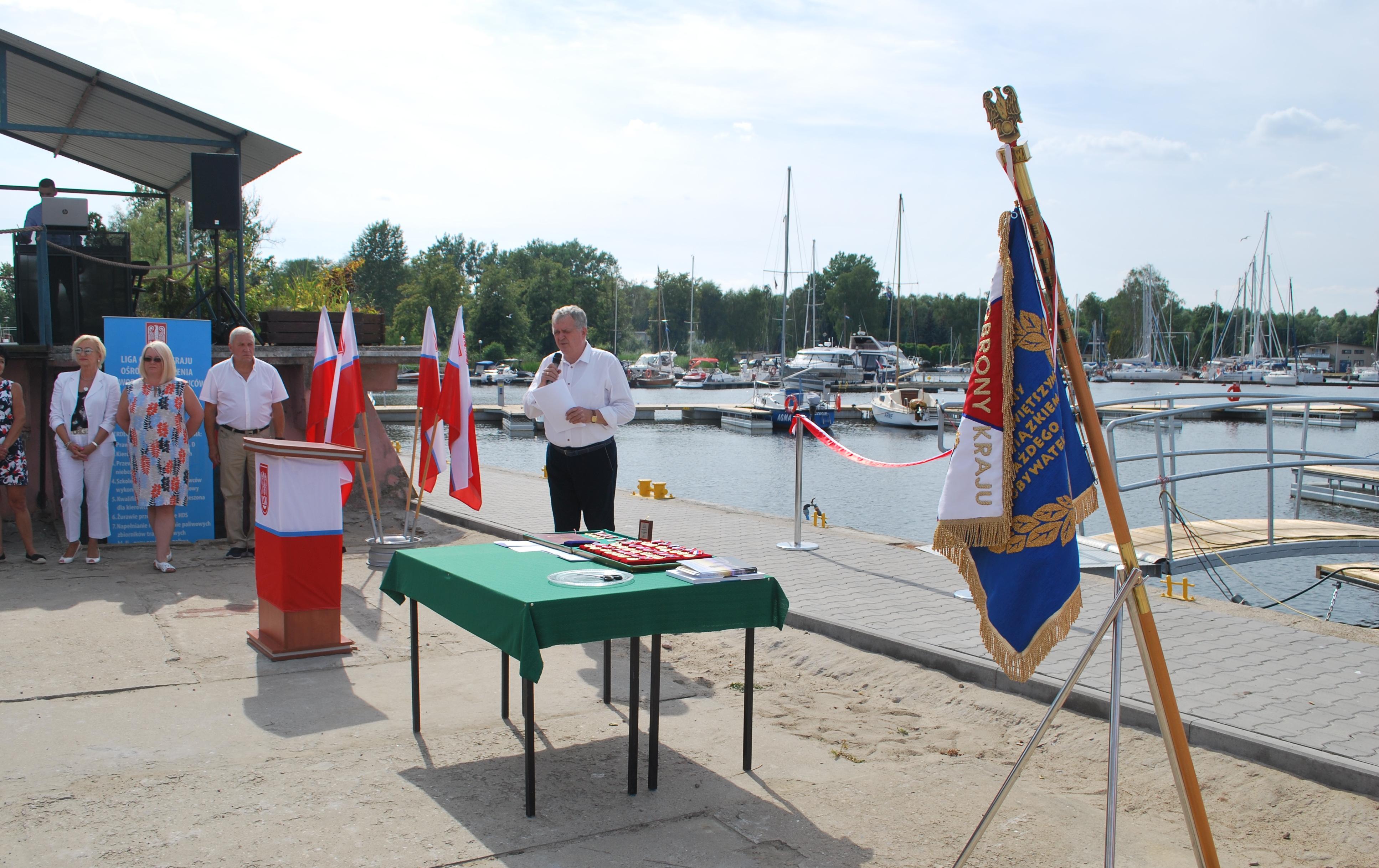 Jubileusz 75-lecia ZOW LOK w Szczecinie i otwarcie nowej mariny Jacht Klubu Morskiego LOK