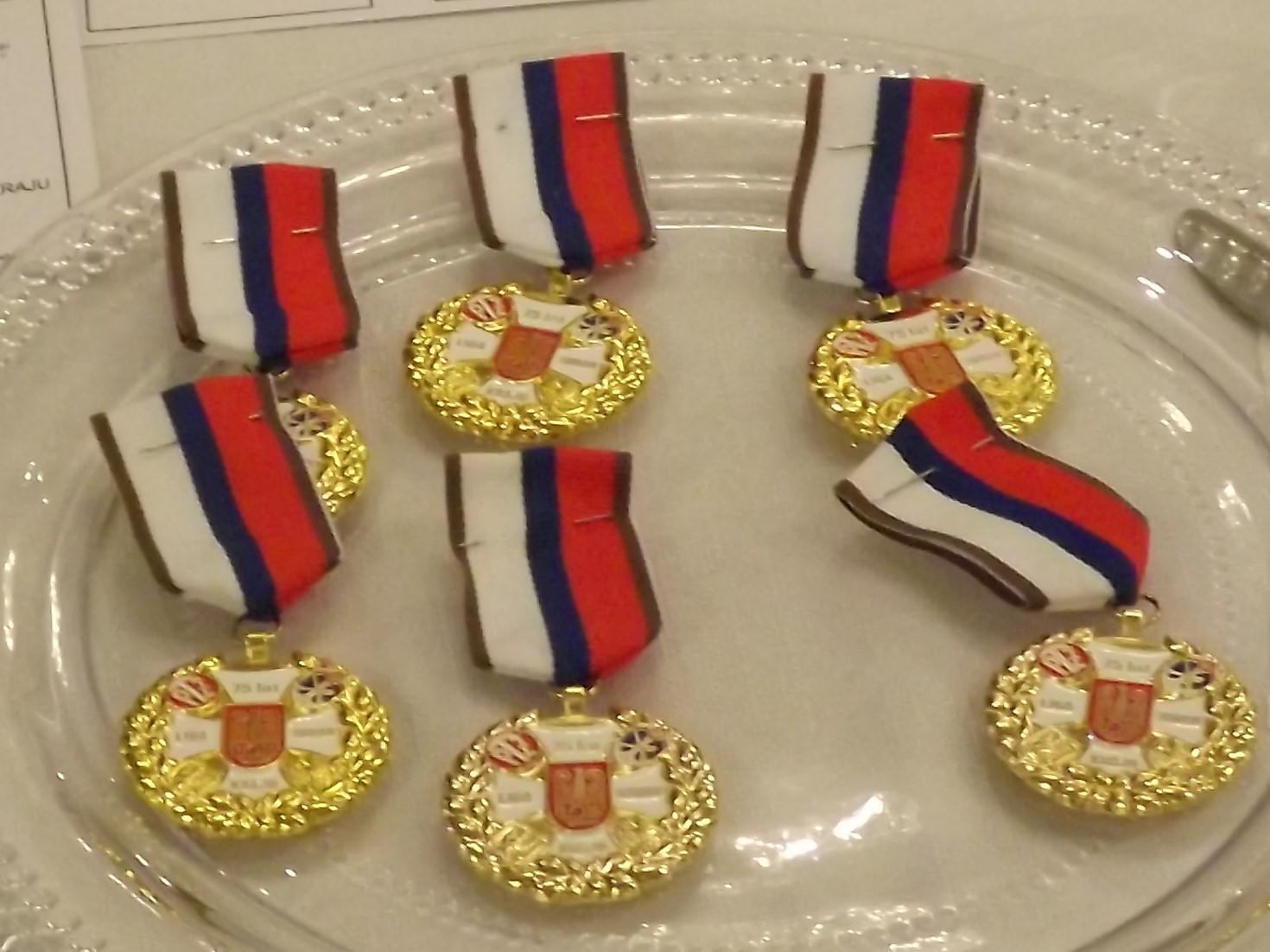 Medal 75-lecia LOK