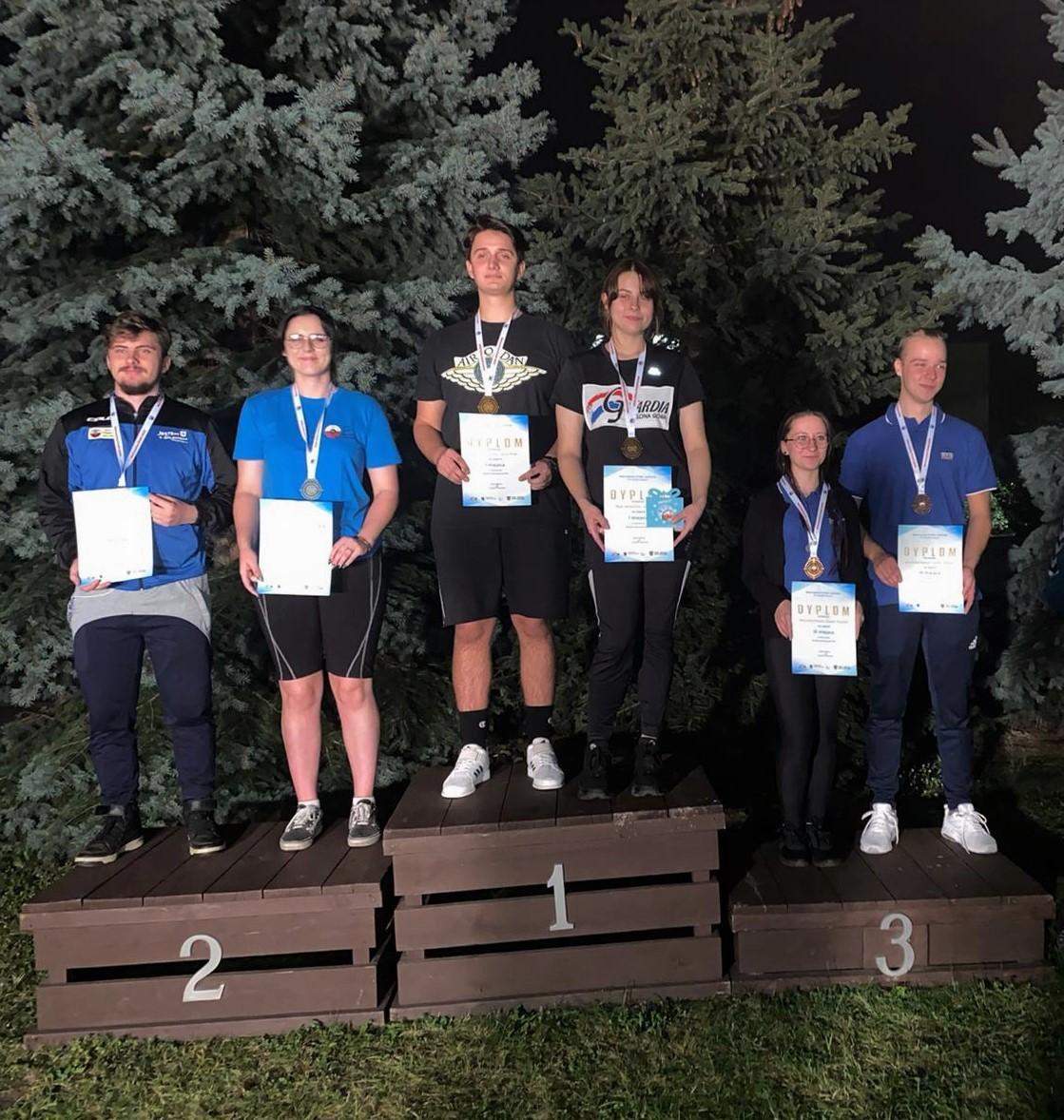 Zwycięscy w kategorii MIX Zuzanna Pierko i Michał Fajfrowski