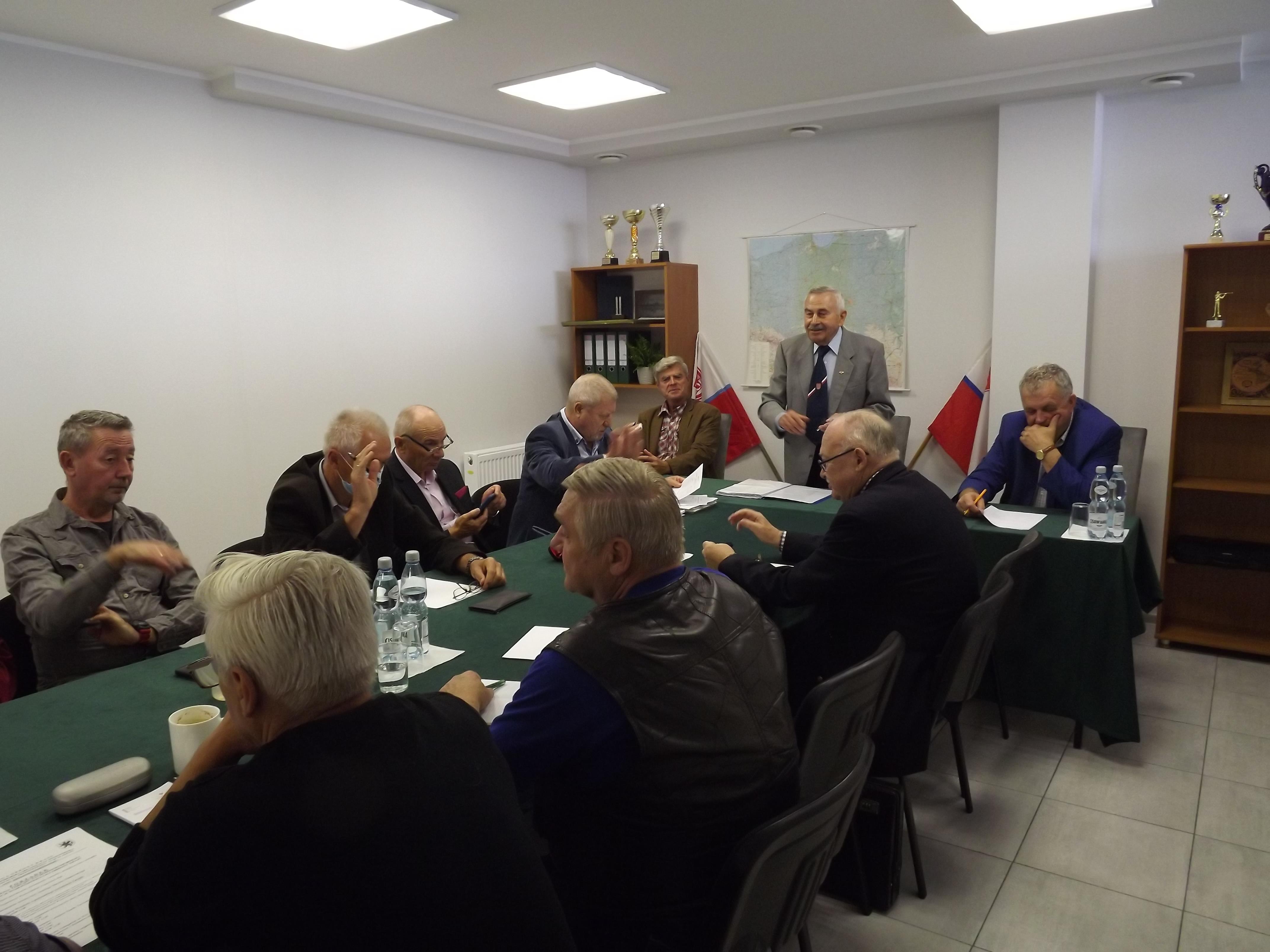 Otwarcie posiedzenia przez Prezesa ZZOW LOK Franciszka Bąka