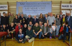 """XXI OGÓLNOPOLSKI KONKURS MODELI KARTONOWYCH """" KRUSZWICA - 2019 """""""