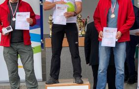 Wicemistrz i brązowy medalista