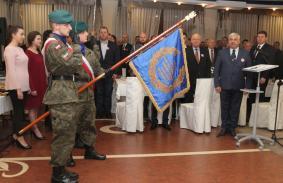 Sztandar Podkarpackiej Organizacji Wojewódzkiej Ligi Obrony Kraju