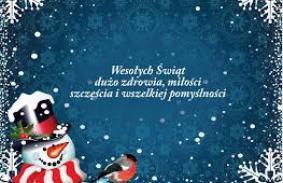 Wszystkiego Dobrego na Święta i Nowy Rok