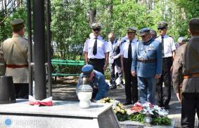 76 rocznica mordu partyzantów w lesie Rapy