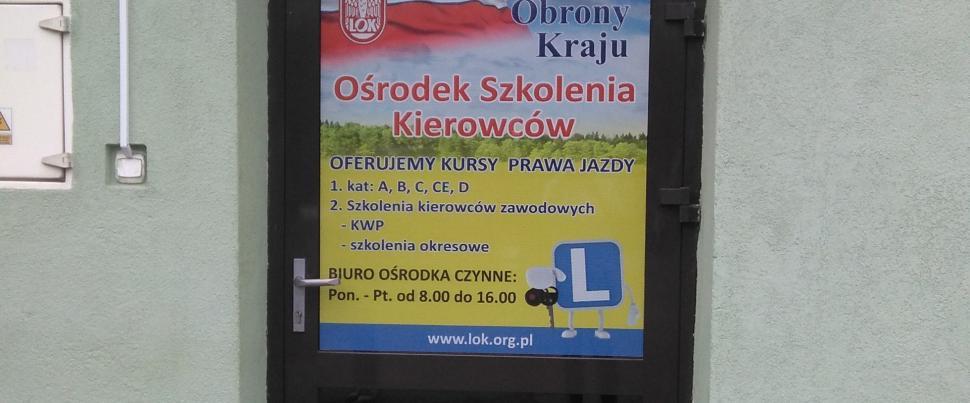 Ośrodek Szkolenia Kierowców  w Rzeszowie